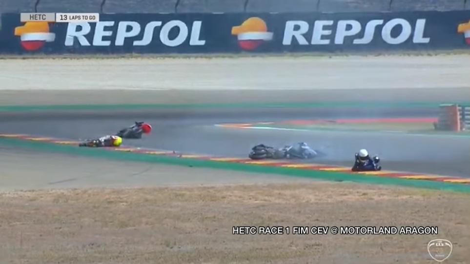 Σοκαριστικό βίντεο: Νεκρός 14χρονος μοτοσικλετιστής σε αγώνες
