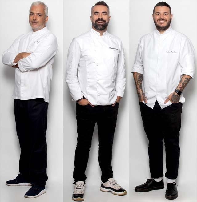Οι 3 κριτές του «Game Of Chefs» (trailers+photo)