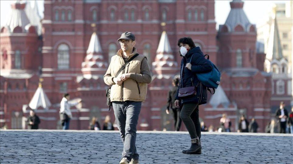 Ρωσία – Κορωνοϊός: Το 70% των νέων μολύνσεων οφείλεται στην μετάλλαξη «Δέλτα»