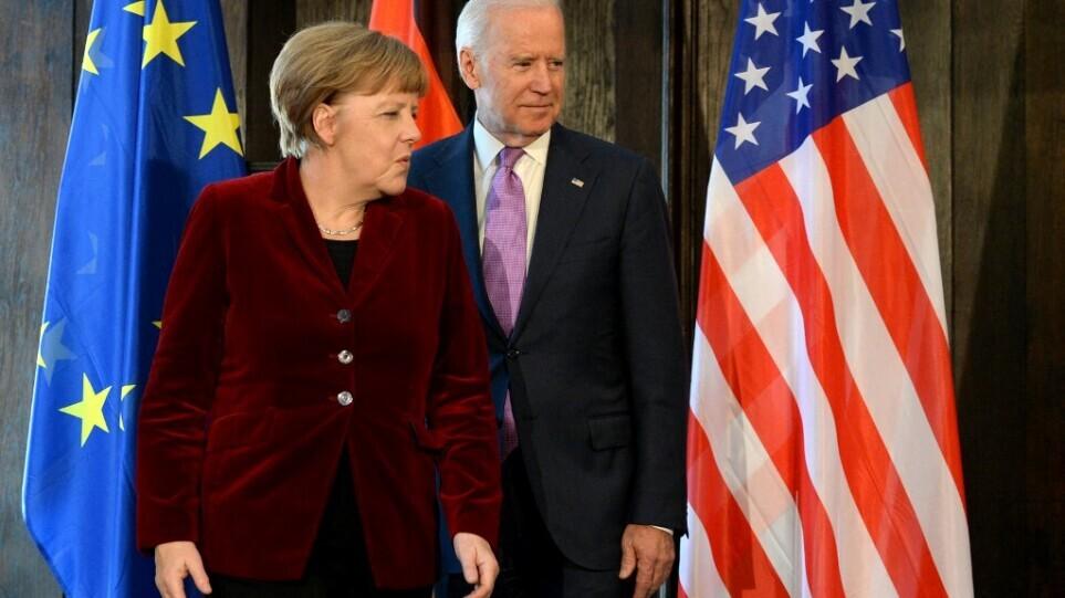 Μπάιντεν πριν τη συνάντηση με Μέρκελ: «Σιδερένια» η συνεργασία ΗΠΑ – Γερμανίας