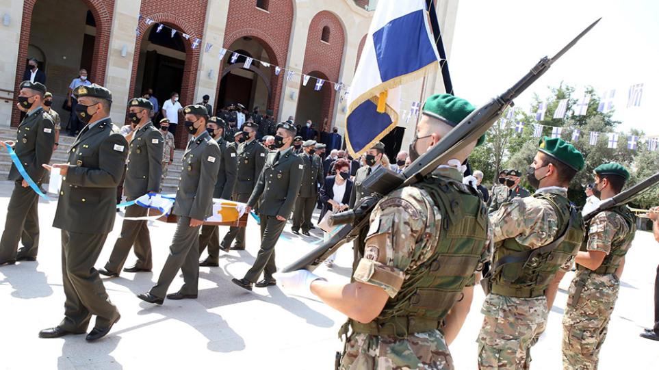 Τουρκική εισβολή στην Κύπρο: Την Παρασκευή η ταφή των οστών του ήρωα Αντιστράτηγου Στυλιανού Καλπουρτζή