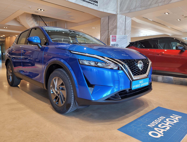 Έφθασαν στις εκθέσεις της Nissan τα νέα Qashqai