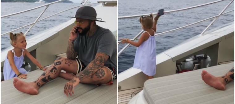 Τετράχρονη πέταξε το κινητό του μπαμπά της στην θάλασσα επειδή δεν της έδινε σημασία