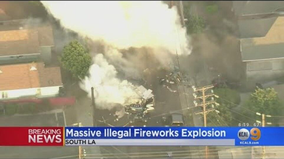 Λος Άντζελες: 17 τραυματίες από έκρηξη πυροτεχνημάτων