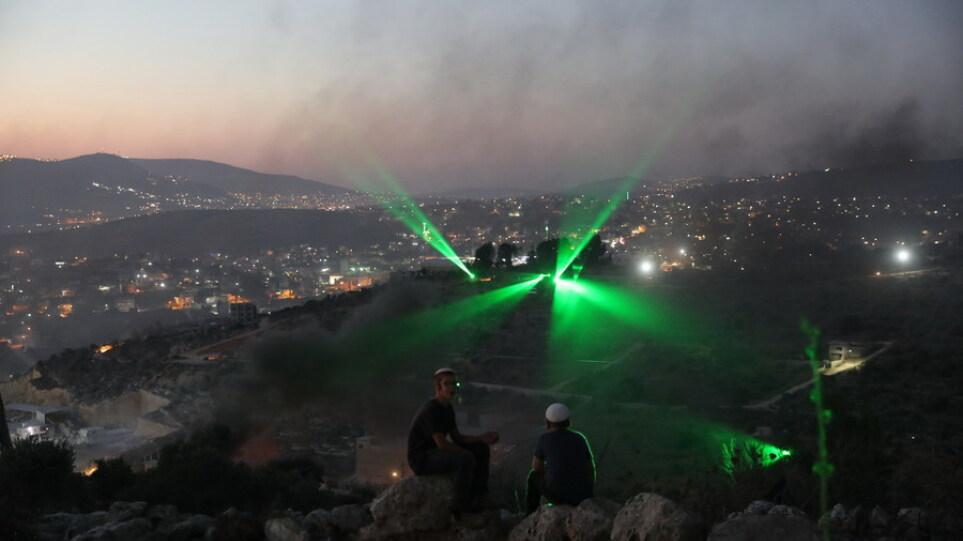 Εμπρηστικά μπαλόνια από τη Γάζα προκάλεσαν τέσσερις πυρκαγιές στο Ισραήλ