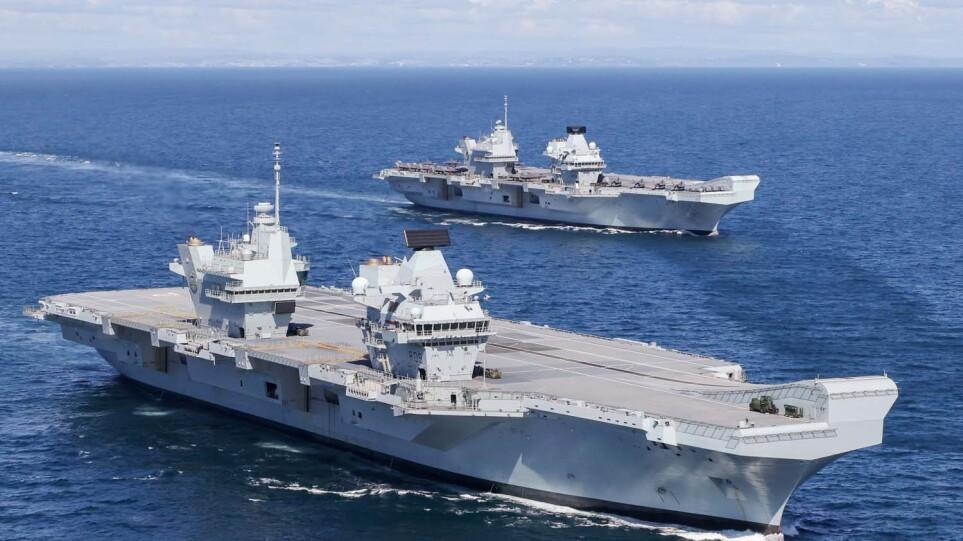 «Επεισόδιο» ανοιχτά της Κύπρου: Ρωσικό υποβρύχιο «κατασκόπευε» βρετανικό αεροπλανοφόρο