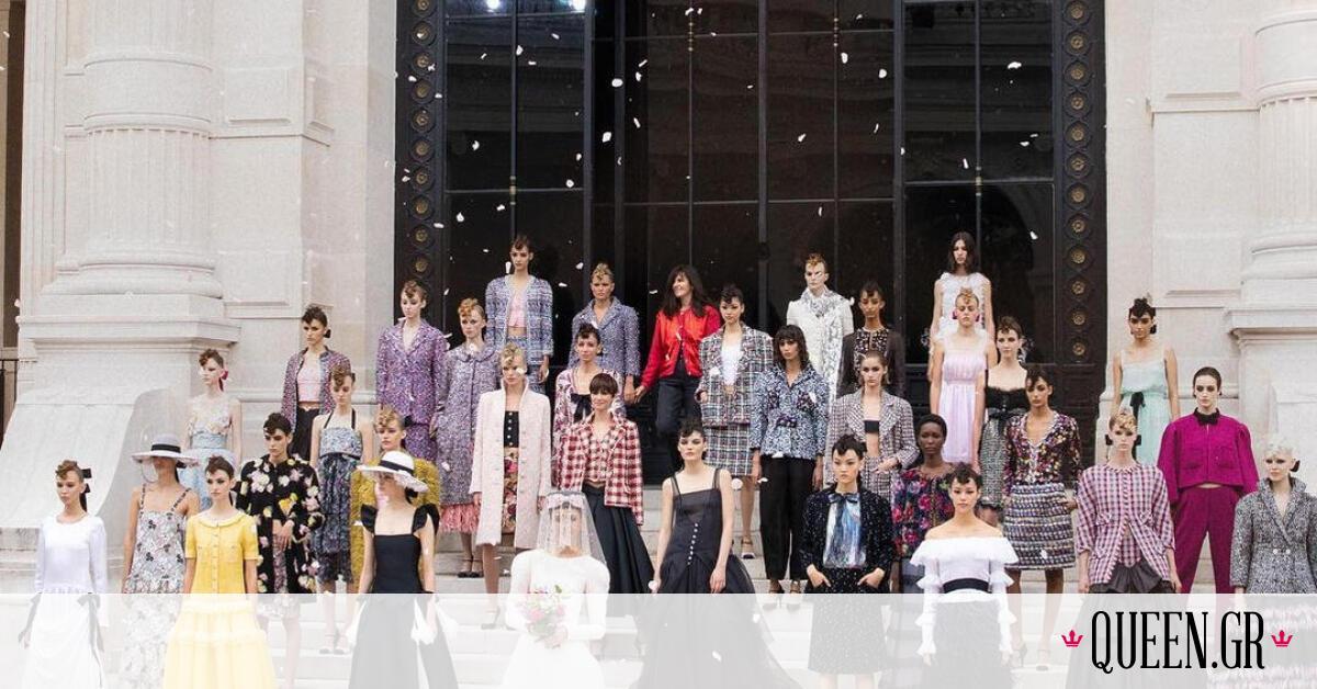Chanel Haute Couture FW 21/22: Η μαγεία του ιμπρεσιονισμού μέσα από τη μόδα