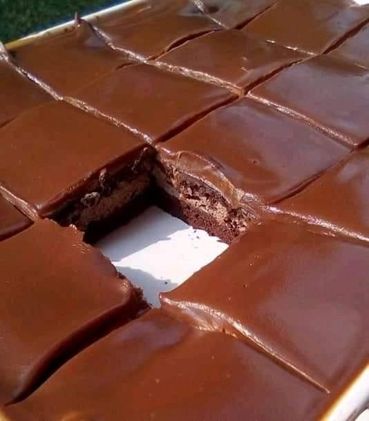 Εύκολο γευστικό σοκολατένιο γλυκό ταψιού !!!