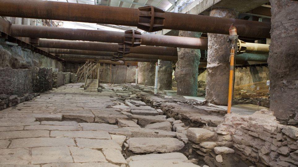 ΣτΕ: Συνταγματική η μεταφορά των αρχαιολογικών ευρημάτων στο μετρό Θεσσαλονίκης