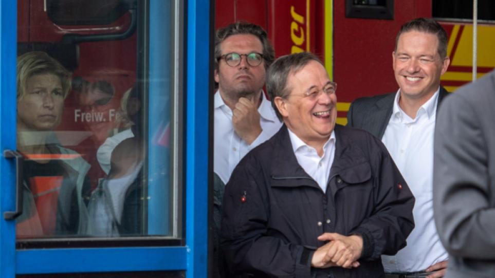 Γερμανία: Τα γέλια του Λάσετ βγήκαν… ξινά – Αρνητική δημοσκοπική εικόνα για τον υποψήφιο της Χριστιανικής Ένωσης