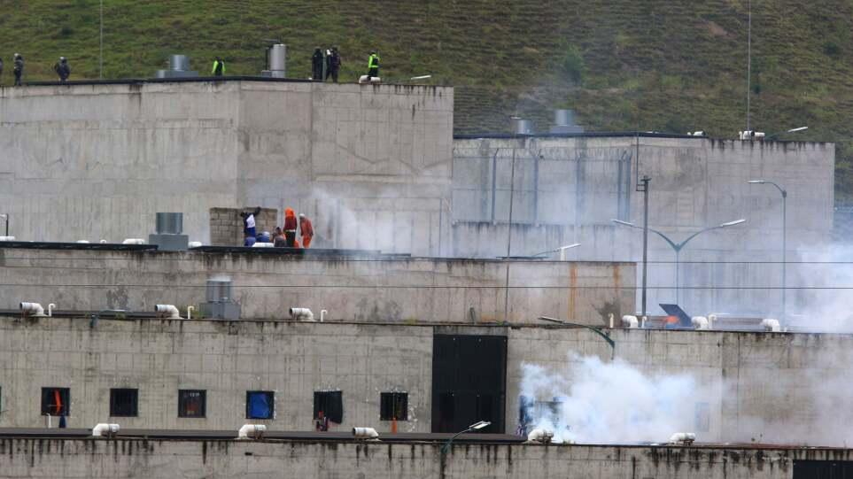 Ισημερινός: Σε «κατάσταση έκτακτης ανάγκης» οι φυλακές μετά τις ταραχές με τουλάχιστον 22 νεκρούς