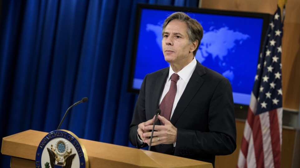 ΗΠΑ: Τηλεφωνική επικοινωνία Μπλίνκεν με τον πρόεδρο της  Τυνησίας