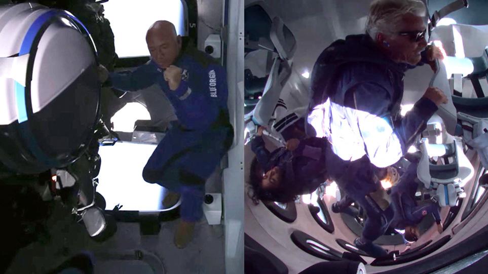 Μπέζος vs Μπράνσον: Αγώνας για το διάστημα με δύο νικητές