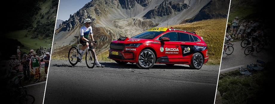 Tο ηλεκτρικό SUV της Skoda ENYAQ iV επίσημος πλοηγός στο Tour de France 2021
