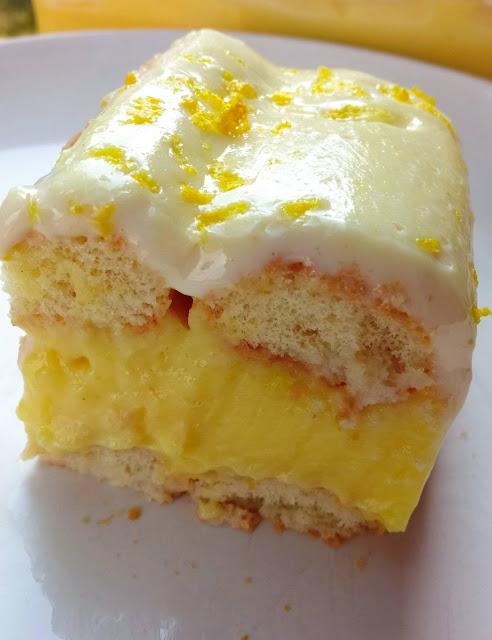 Δροσερό γευστικό γλυκό με σαβαγιάρ -ζαχαρούχο-κρέμα !!!
