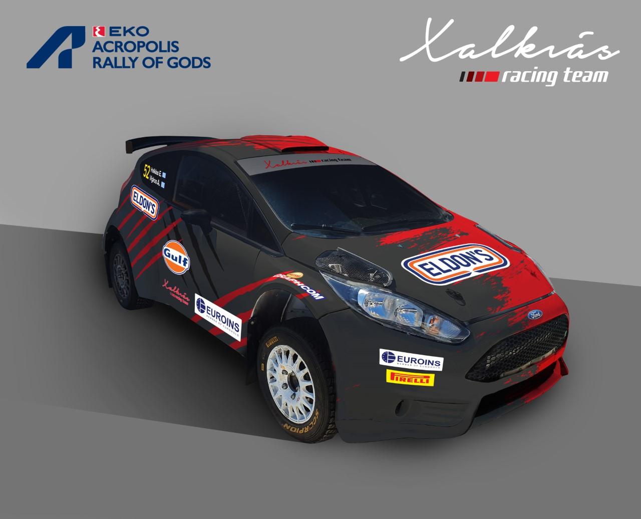 Η Χαλκιάς Racing Team στο Acropolis Rally 2021