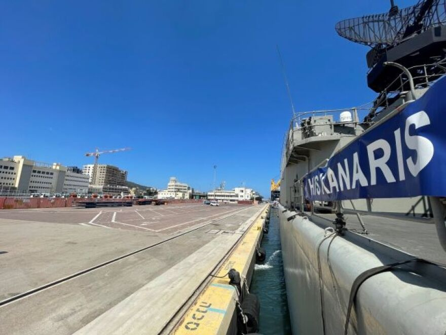 ΓΕΕΘΑ: Στο λιμάνι της Χάιφα η φρεγάτα «Κανάρης» – Δείτε φωτογραφίες