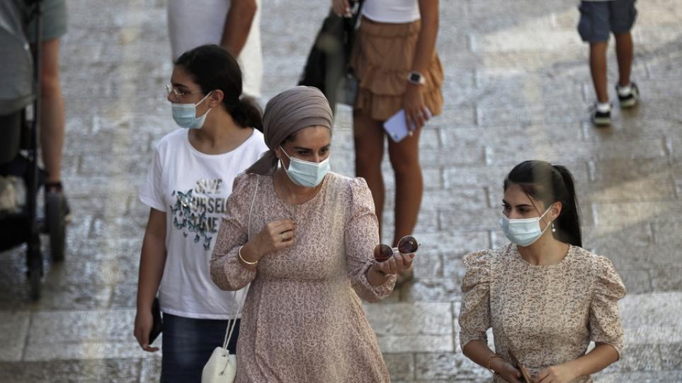 Κορωνοϊός – Ισραήλ: Εντοπίστηκαν 10.000 κρούσματα σε ένα 24ωρο