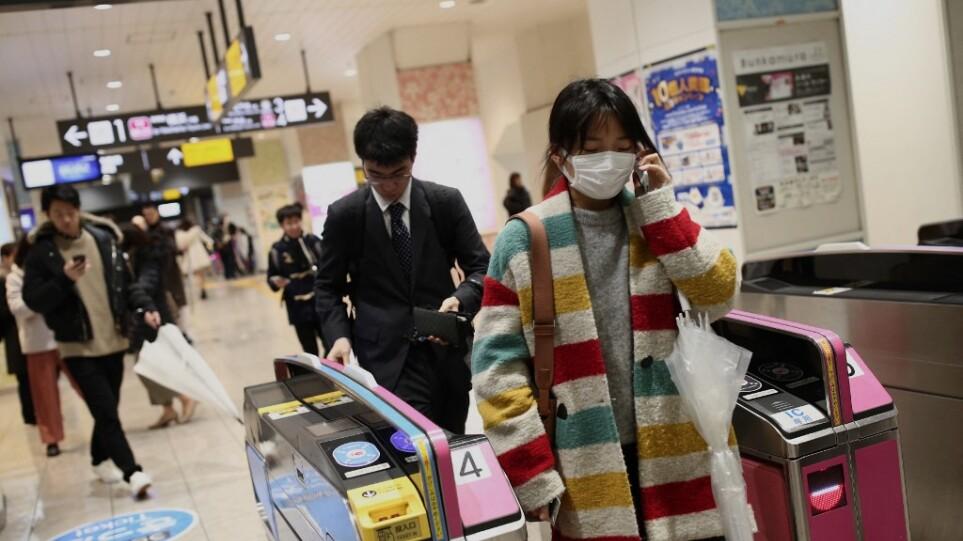 Ιαπωνία: Δύο τραυματίες από επίθεση με οξύ στο μετρό του Τόκιο