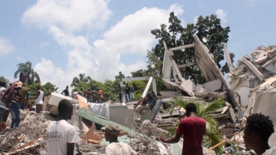 Σεισμός στην Αϊτή: Στους 1.941 ανήλθε ο απολογισμός των νεκρών