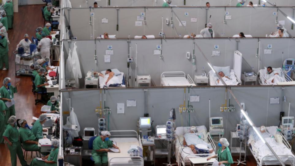 Κορωνοϊός – Βραζιλία: 920 θάνατοι και πάνω από 31.000 κρούσματα σε 24 ώρες