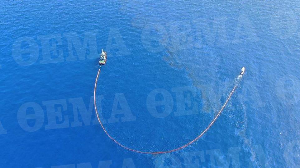 Μυρτώο – Μονεμβασιά: Αγώνας δρόμου για την πρόληψη θαλάσσιας ρύπανσης από το ναυάγιο