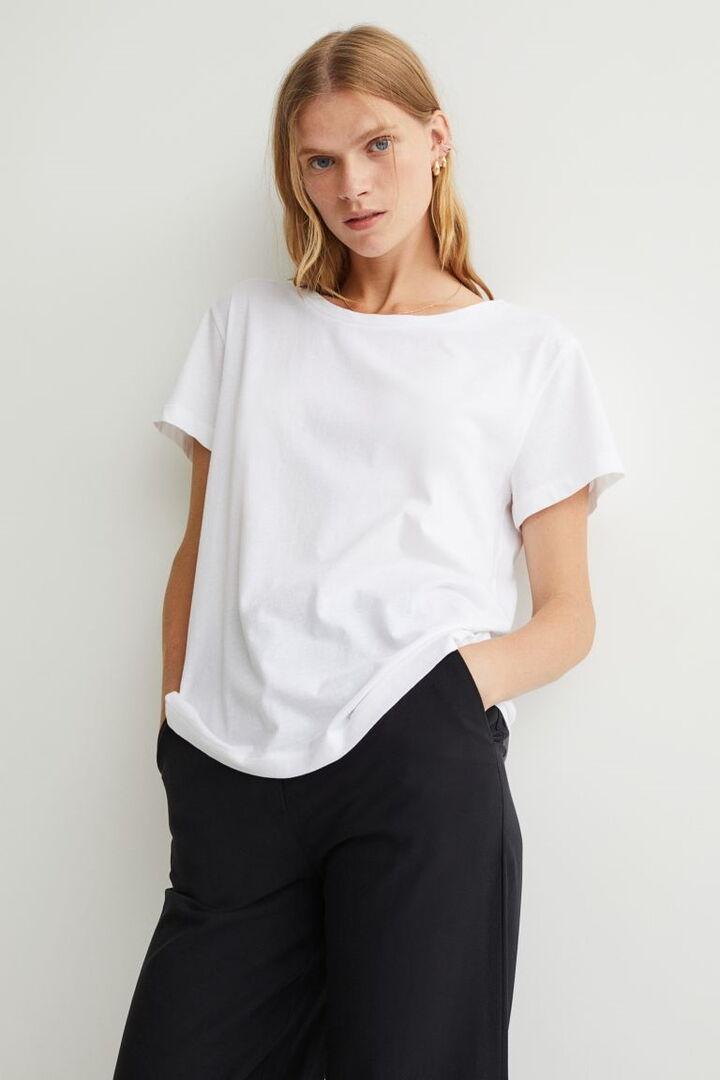 10 διαχρονικά, λευκά T-shirts που θα αγοράσεις τώρα και θα φοράς και τον χειμώνα