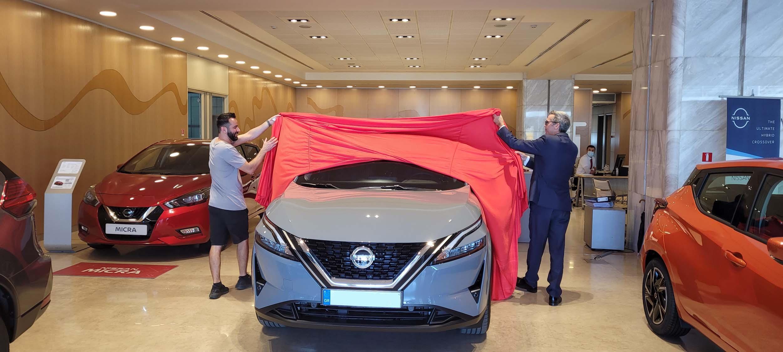 Βγήκαν στον δρόμο τα πρώτα,νέα Nissan QASHQAI !
