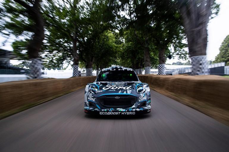 Το υβριδικό αγωνιστικό Ford Puma Rally1 WRC