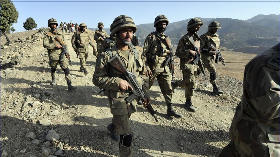 Δύο Πακιστανοί στρατιώτες νεκροί στα σύνορα με το Αφγανιστάν