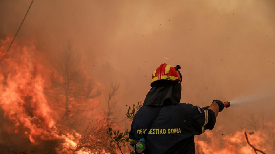 Φωτιά στην Ηλεία: Αντιμέτωπες με αναζωπυρώσεις οι πυροσβεστικές δυνάμεις