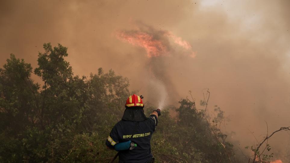 Δασικές πυρκαγιές στην Ελλάδα: Η Γαλλία στέλνει πρωτοφανή χερσαία βοήθεια