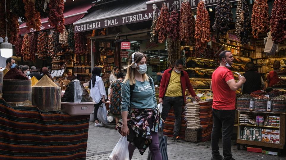 Κορωνοϊός – Τουρκία: Τουρκία: Σχεδόν 20.000 κρούσματα σε 24 ώρες