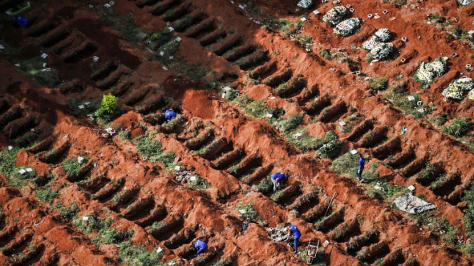 Πανδημία – Βραζιλία: 894 θάνατοι και σχεδόν 31.000 κρούσματα το προηγούμενο 24ωρο