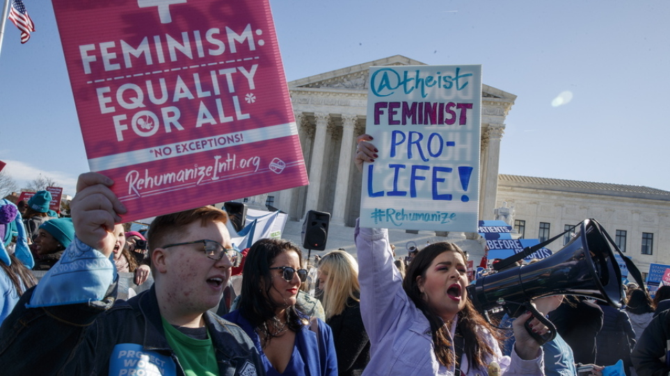 Αμβλώσεις – ΗΠΑ: Τρεις βουλευτίνες καταθέτουν σήμερα δημόσια τις προσωπικές τους εμπειρίες