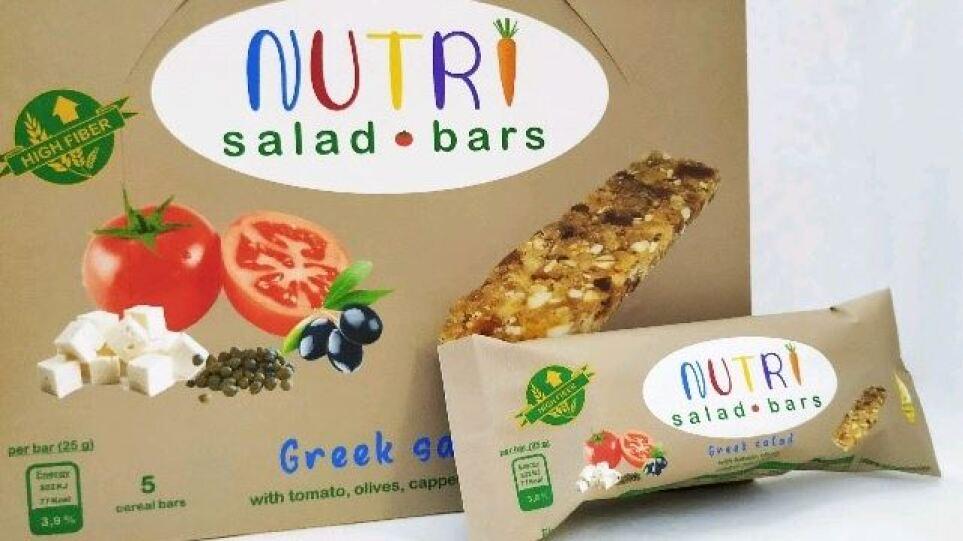 Μπάρες με γεύση Greek salad από το ΕΜΠ