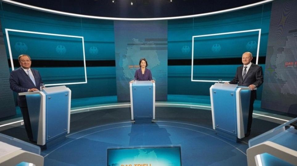 Γερμανικές εκλογές: Η τρίτη τηλεμαχία αναμένεται να «δείξει» τον διάδοχο της Μέρκελ