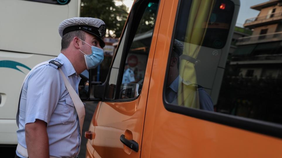 Έλεγχοι της Τροχαίας σε σχολικά λεωφορεία: Βεβαιώθηκαν 65 παραβάσεις