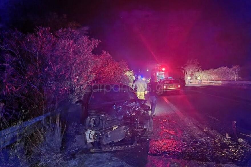 Τραγωδία στην Κρήτη: Δυστύχημα με δύο νεκρούς στον ΒΟΑΚ – Τέσσερις τραυματίες στο νοσοκομείο