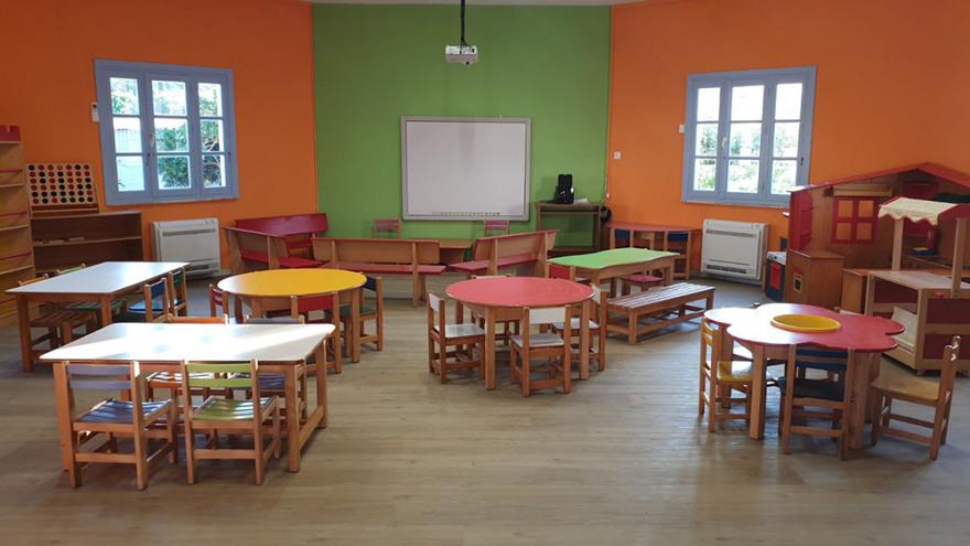 Νηπιαγωγείο – στολίδι: Ολική αναμόρφωση στον χώρο που θα υποδεχτεί τους 13 μικρούς μαθητές των Λειψών