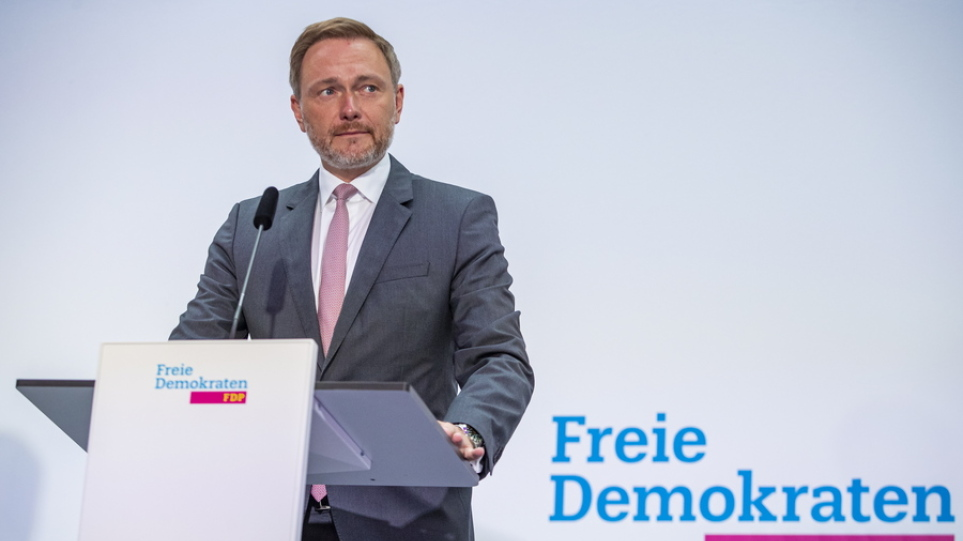 Γερμανία: Οι Ελεύθεροι Δημοκράτες θα συναντηθούν με τους Χριστιανοδημοκράτες και μετά τους Σοσιαλδημοκράτες