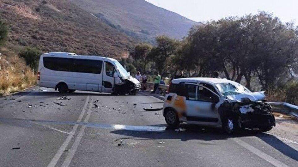 Κρήτη: Τροχαίο ατύχημα με τέσσερις τραυματίες στον ΒΟΑΚ