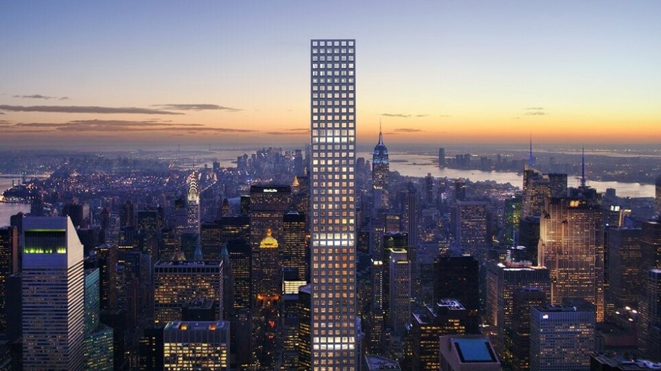 «Ελαττωματικός» ο ψηλότερος ουρανοξύστης της Νέας Υόρκης – Μήνυση από τους δισεκατομμυριούχους ενοίκους