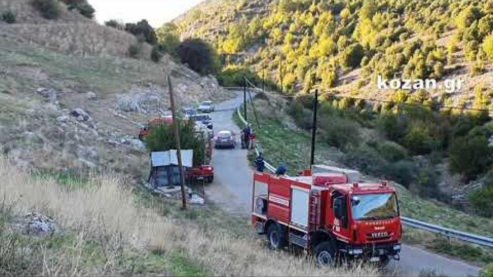 Φωτιά σε θαμνώδεις εκτάσεις στο Καπνοχώρι Κοζάνης