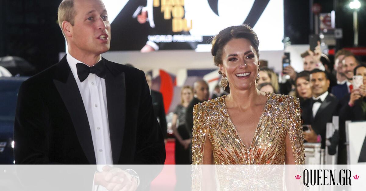 H Kate Middleton αντέγραψε το look της πριγκίπισσας Diana – Το gold dress και η εμφάνιση του 1985