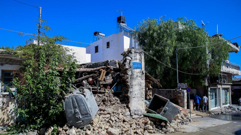 Σεισμός στην Κρήτη: Ισχυρός μετασεισμός 4,8 Ρίχτερ, νοτιοανατολικά του Ηρακλείου