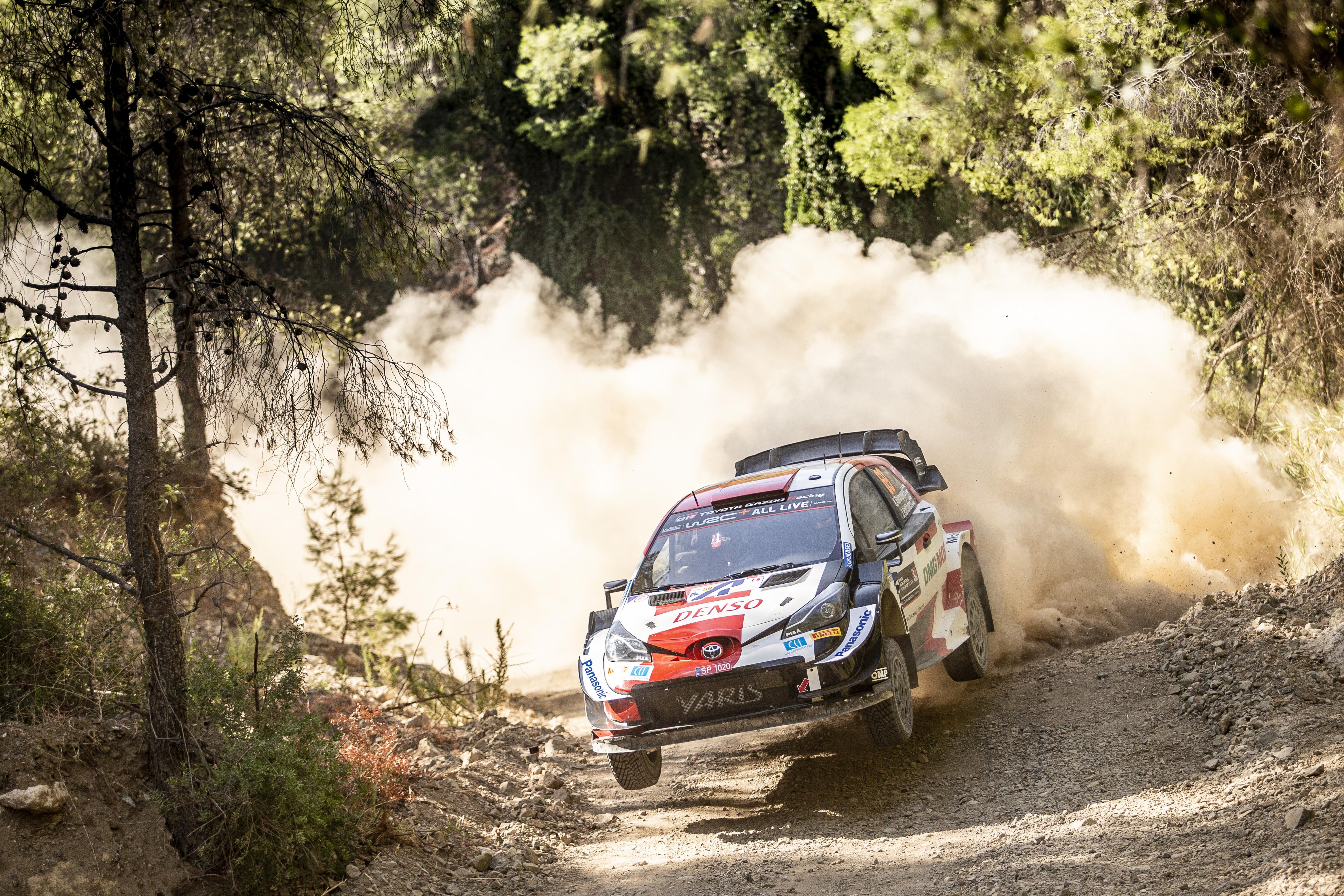 Ο 20χρονος Kalle Rovanpera με Toyota Yaris WRC κέρδισε το ΕΚΟ Ράλι Ακρόπολις