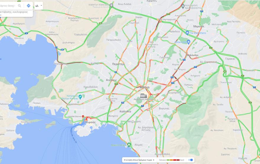 Αυξημένη η κίνηση τώρα στους δρόμους – Κυκλοφοριακές ρυθμίσεις από το βράδυ στη γέφυρα Καλυφτάκη