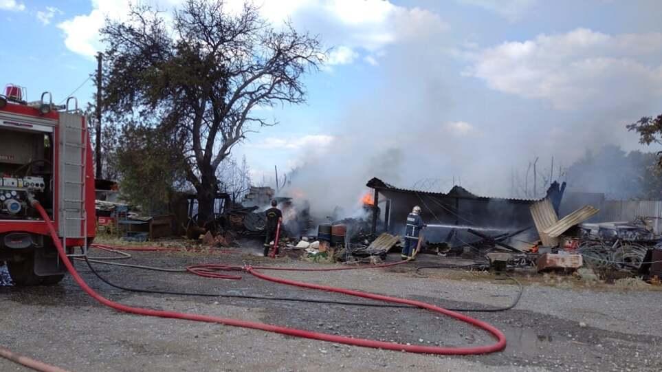 Θεσσαλονίκη: Φωτιά πίσω από το Διαβαλκανικό – Κινητοποίηση της Πυροσβεστικής