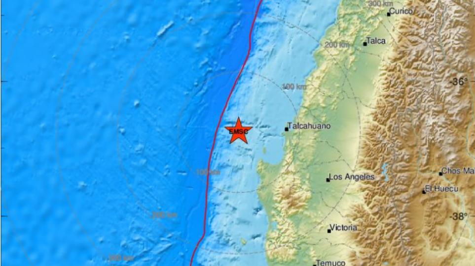 Χιλή: Σεισμός 5,1 Ρίχτερ